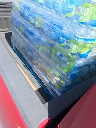 water donation 2 - Heat Wave - Water Donation Drive Results