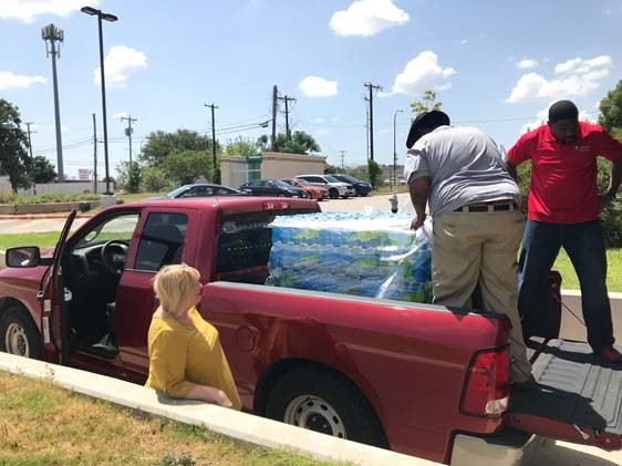 water donation 3 - Heat Wave - Water Donation Drive Results